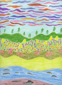 913. Pedaling as I Tread Water(Multicolored World