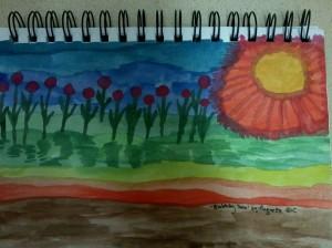 915.A CURRENT ACCOUNT (Blobbity Sun)